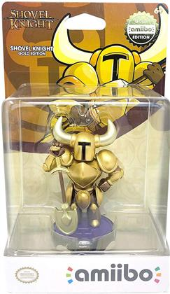 Amiibo Shovel Knight GOLD TREASURE TROVE