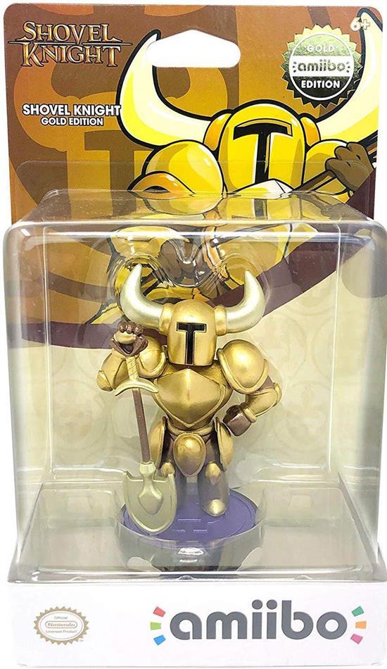 Amiibo Shovel Knight GOLD TREASURE TROVE