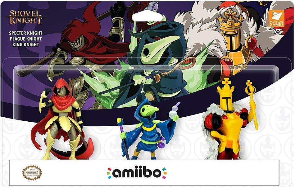amiibo Figur Shovel Knight Triple Pack