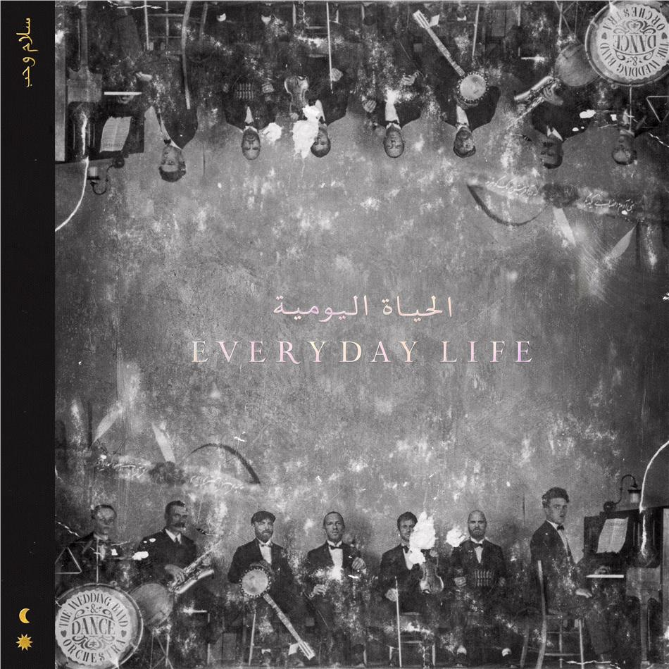Coldplay - Everyday Life (Third Man Records, Indie Exclusive, Edizione Limitata, Gold Vinyl, 2 LP + Digital Copy)