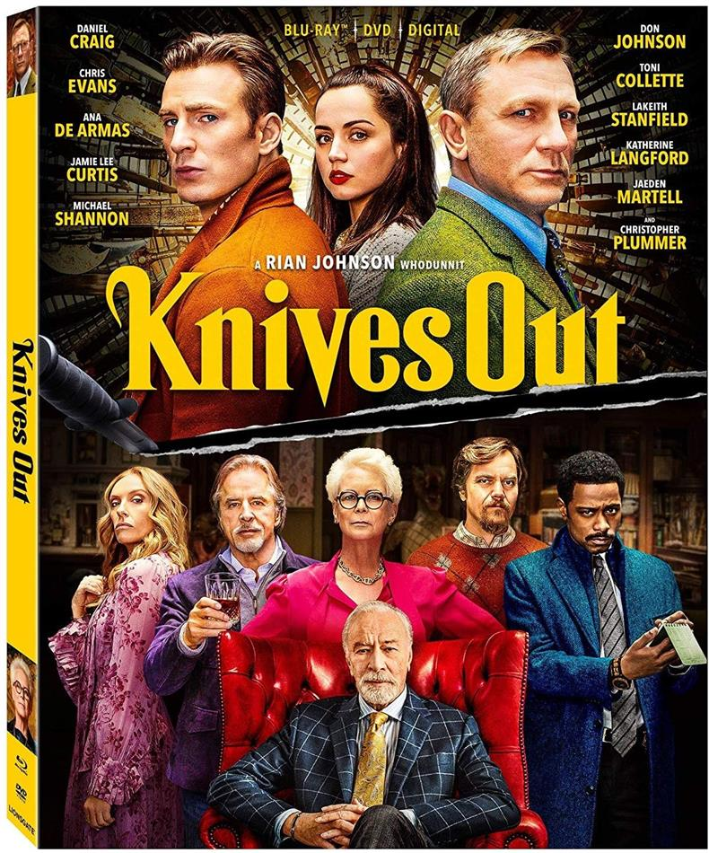 Knives Out (2019) (Blu-ray + DVD)