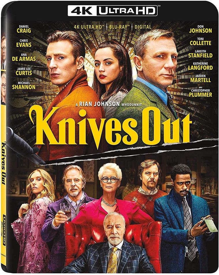 Knives Out (2019) (4K Ultra HD + Blu-ray)