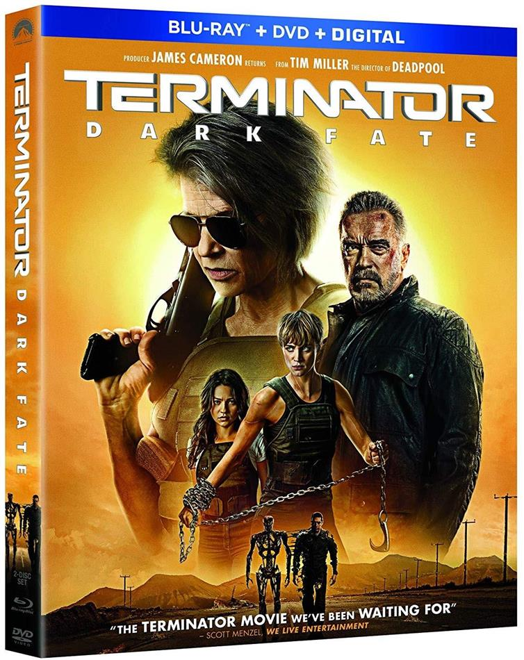 Terminator 6 - Dark Fate (2019) (Blu-ray + DVD)