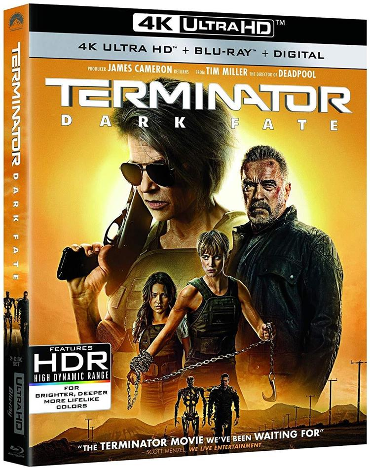 Terminator 6 - Dark Fate (2019) (4K Ultra HD + Blu-ray)