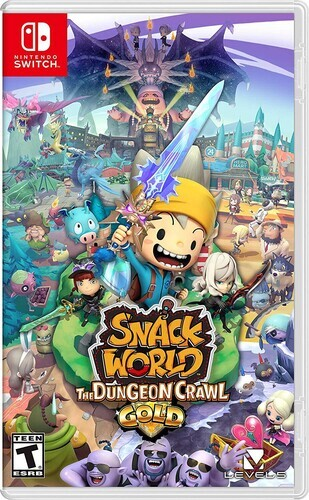 Snack World: Dungeon Crawl - Gold