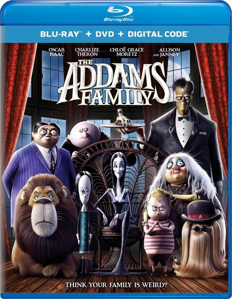 The Addams Family (2019) (Blu-ray + DVD)