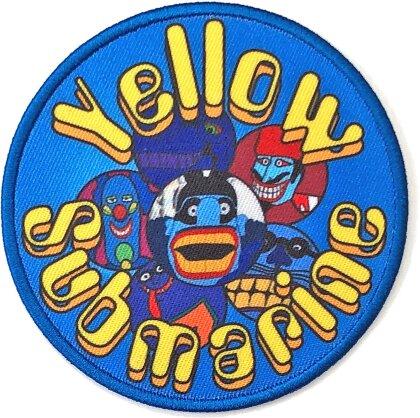 The Beatles Standard Patch - Yellow Submarine Baddies Circle (Loose)