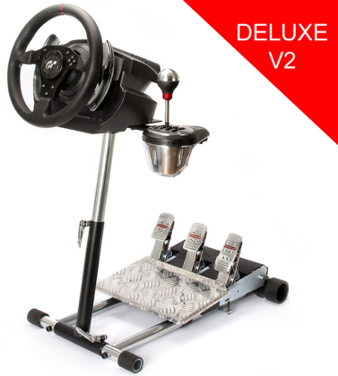 Wheel Stand Pro for Thrustmaster T500RS (TH8RS/TH8A Shifter) - Deluxe V2