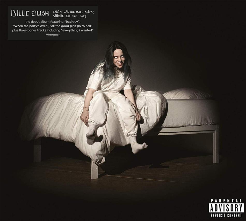 Billie Eilish - When We All Fall Asleep, Where Do We Go? (3 Bonustracks, International Deluxe Edition)