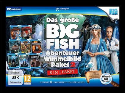 Das große Big Fish Abenteuer Wimmelbild Paket 2 - 8 in 1 Paket