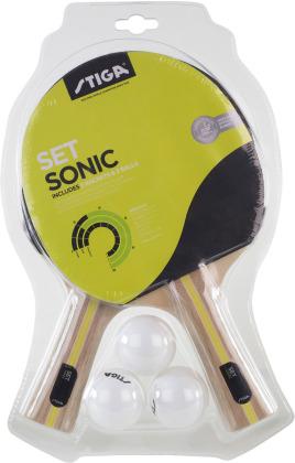 TT-Schläger Sonic Set - Tischtennis, 2 Schläger und