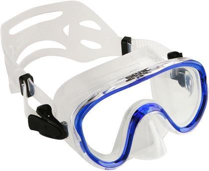 Tauchermaske Marina blau - für Kinder, Einglasmaske,