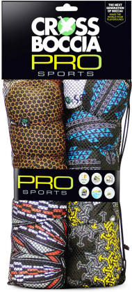 Crossboccia Familypack Pro - Race Arrows, 4x3 Kugeln /