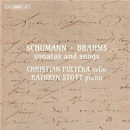 Robert Schumann (1810-1856), Johannes Brahms (1833-1897), Clara Wieck-Schumann (1819-1896), Christian Poltera & Kathryn Stott - Sonatas & Songs (Hybrid SACD)