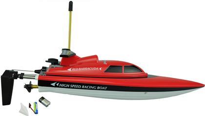 Red Barracuda Boot, 27 MHz - 28x7 cm, Bootsständer, RTR,