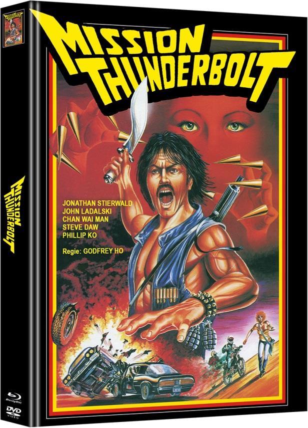 Mission Thunderbolt (1983) (Cover A, Edizione Limitata, Mediabook, Blu-ray + DVD)