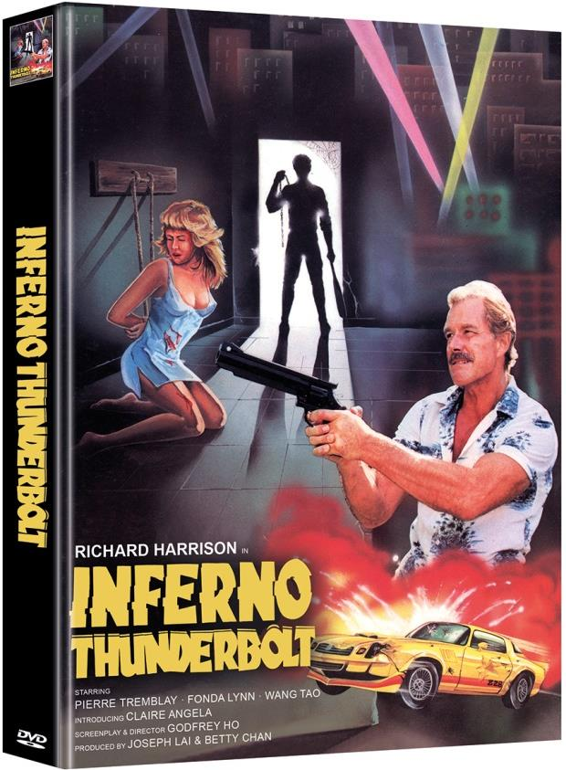 Inferno Thunderbolt (1984) (Cover D, Limited Edition, Mediabook, Uncut, 2 DVDs)