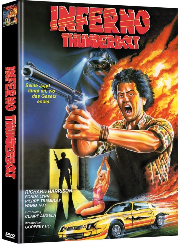 Inferno Thunderbolt (1984) (Cover C, Limited Edition, Mediabook, Uncut, 2 DVDs)