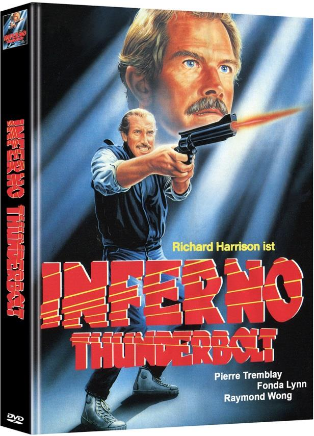 Inferno Thunderbolt (1984) (Cover A, Limited Edition, Mediabook, Uncut, 2 DVDs)