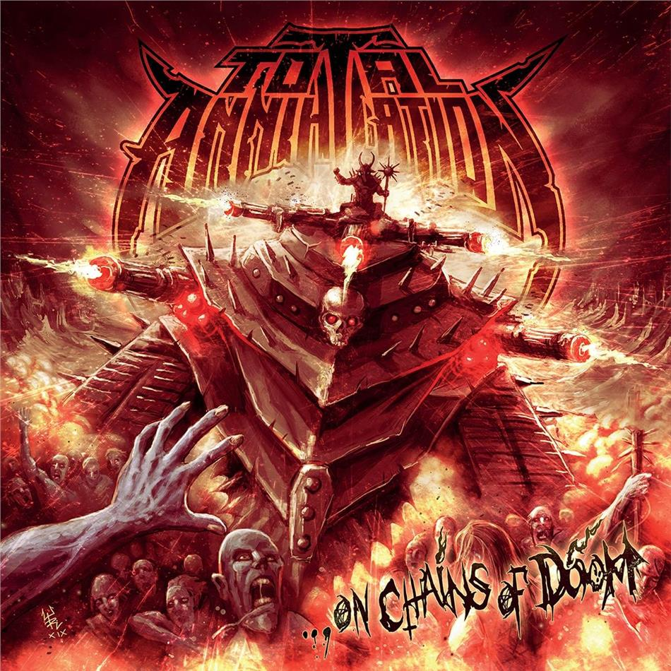Total Annihilation - On Chains Of Doom (LP)