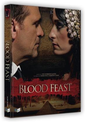 Blood Feast (2016) (Cover B, Wattiert, Limited Edition, Mediabook, Uncut, 2 Blu-rays + DVD + CD)