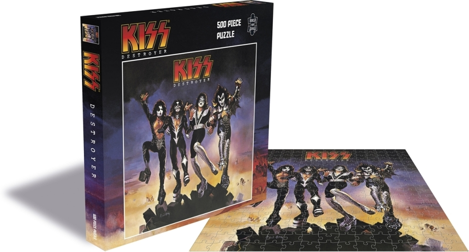 Kiss - Destroyer (500 Piece Jigsaw Puzzle)