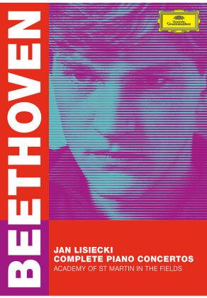 Jan Lisiecki - Ludwig Van Beethoven: Complete Piano Concertos (Deutsche Grammophon, 2 DVDs)