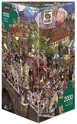 Street Parade - 2000-Piece Jigsaw Puzzle