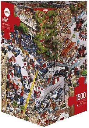 Monaco Classics - 1500-Piece Jigsaw Puzzle