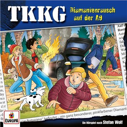 TKKG - 214/Diamantenrausch auf der A9