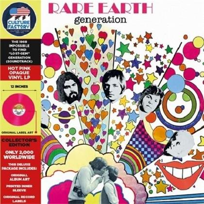 Rare Earth - Generation - OST (2020 Reissue, Culture Factory, LP)