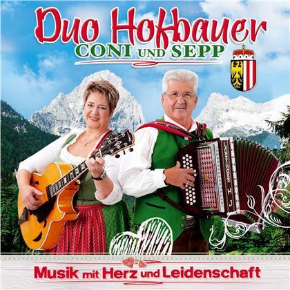 Duo Hofbauer Coni und Sepp - Musik mit Herz und Leidenschaft