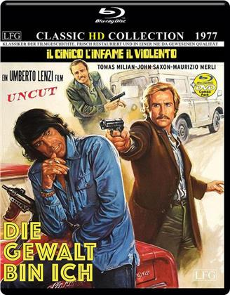 Die Gewalt bin ich (1977) (Classic HD Collection, Blu-ray + DVD)