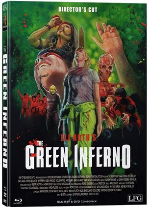 The Green Inferno (2013) (Cover A, Director's Cut, Edizione Limitata, Mediabook, Uncut, Blu-ray + DVD)
