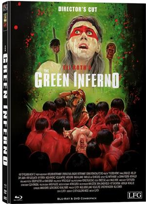 The Green Inferno (2013) (Cover B, Director's Cut, Limited Edition, Mediabook, Uncut, Blu-ray + DVD)