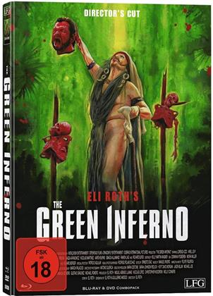 The Green Inferno (2013) (Cover C, Director's Cut, Edizione Limitata, Mediabook, Uncut, Blu-ray + DVD)
