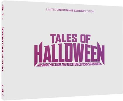 Tales of Halloween (2015) (Cover Q, Wattiert, Limited Edition, Mediabook, Uncut, Blu-ray + DVD)