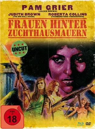 Frauen hinter Zuchthausmauern (1971) (Limited Edition, Mediabook, Uncut, Blu-ray + DVD)