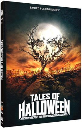 Tales of Halloween (2015) (Cover A, Limited Edition, Mediabook, Uncut, Blu-ray + DVD)