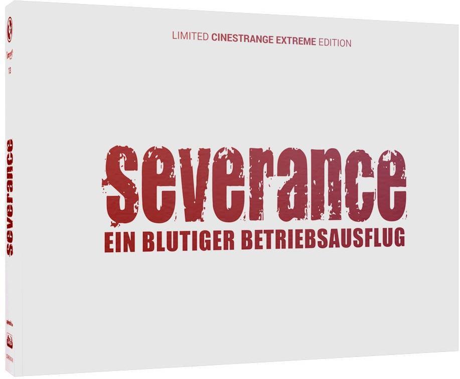 Severance (2006) (Cover Q, Wattiert, Limited Edition, Mediabook, Uncut, Blu-ray + DVD)