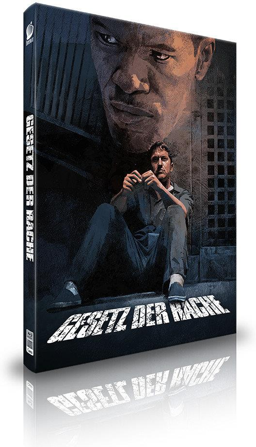 Gesetz der Rache (2009) (Cover B, Director's Cut, Kinoversion, Limited Collector's Edition, Mediabook, 3 Blu-rays + Hörbuch)