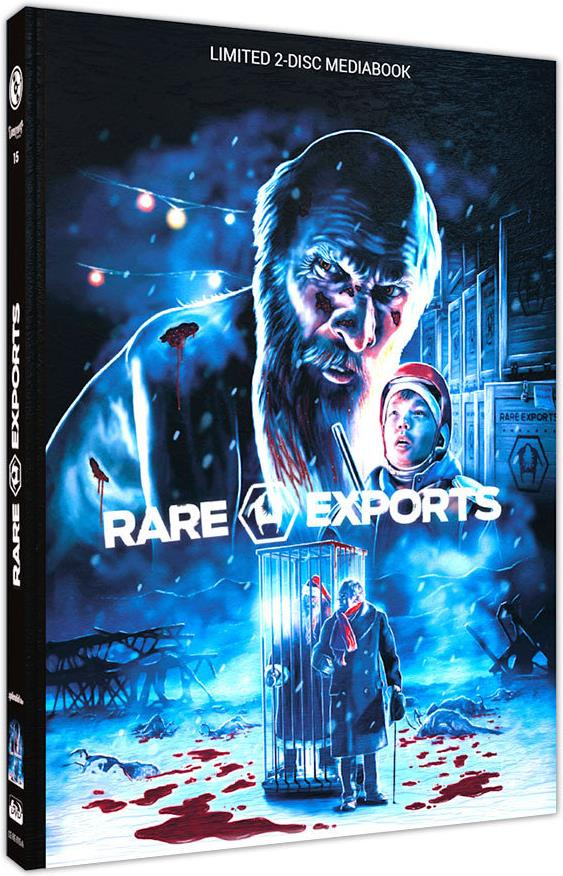 Rare Exports - A Christmas Tale (2010) (Cover A, Limited Edition, Mediabook, Uncut, Blu-ray + DVD)