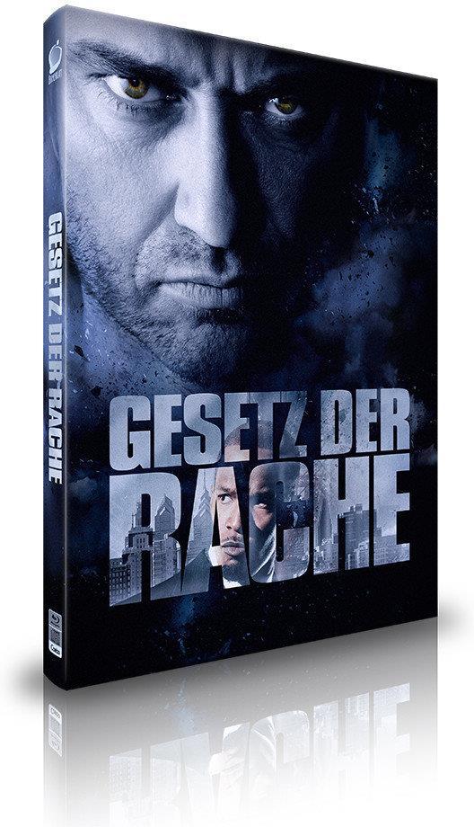 Gesetz der Rache (2009) (Cover C, Director's Cut, Kinoversion, Limited Collector's Edition, Mediabook, 3 Blu-rays + Hörbuch)