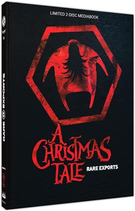 Rare Exports - A Christmas Tale (2010) (Cover C, Limited Edition, Mediabook, Uncut, Blu-ray + DVD)