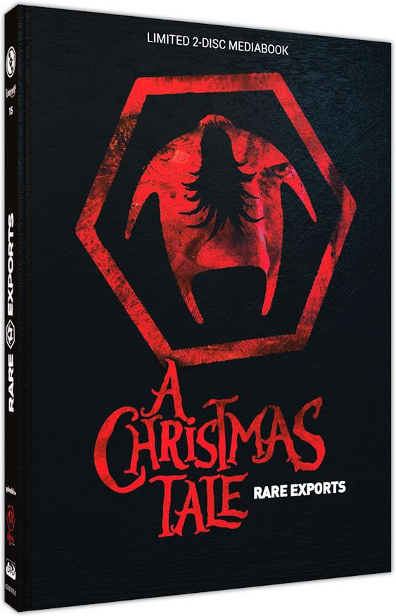 Rare Exports - A Christmas Tale (2010) (Cover C, Edizione Limitata, Mediabook, Uncut, Blu-ray + DVD)