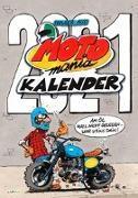 MOTOmania Kalender 2021 - Monatskalender für die Wand im Großformat