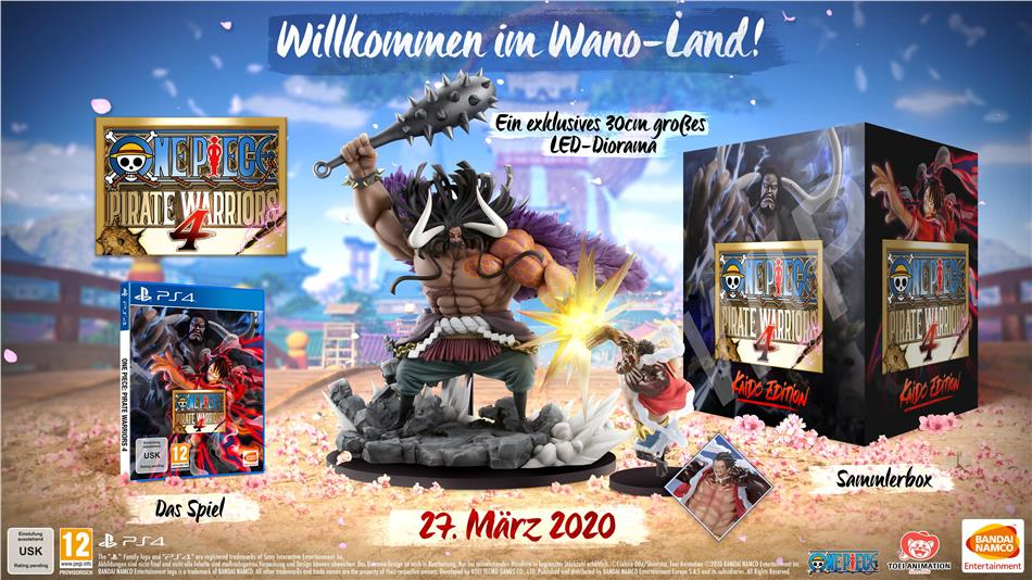 One Piece Pirate Warriors 4 (Kaido Edition)