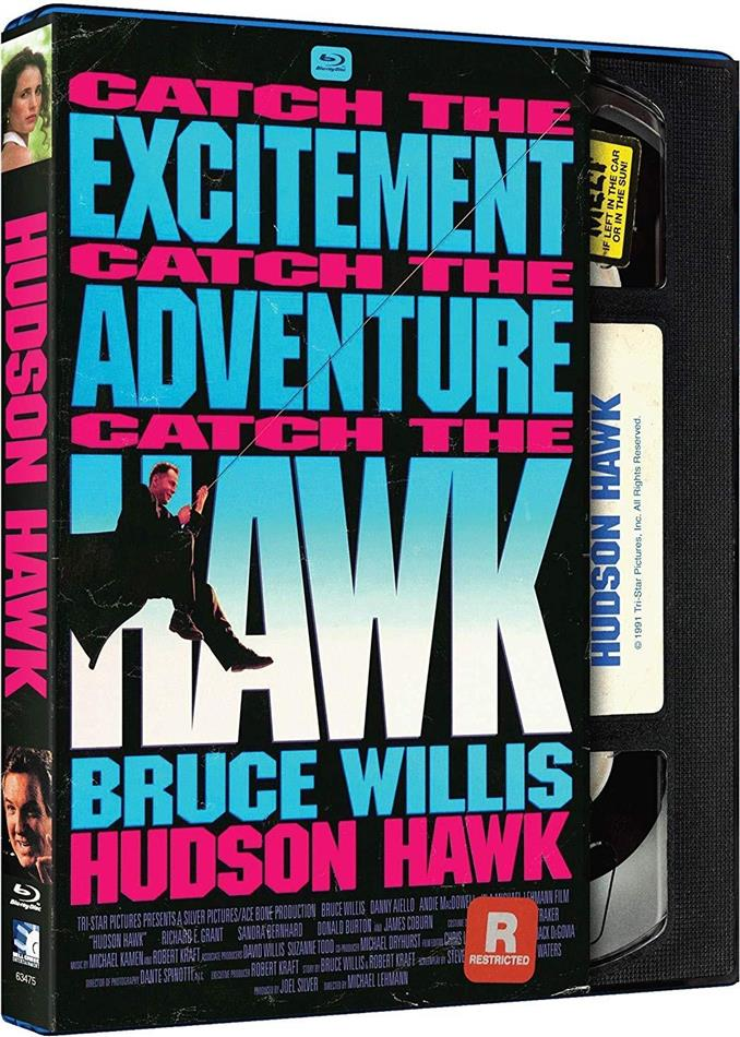 Hudson Hawk (1991) (VHS Retro Edition)