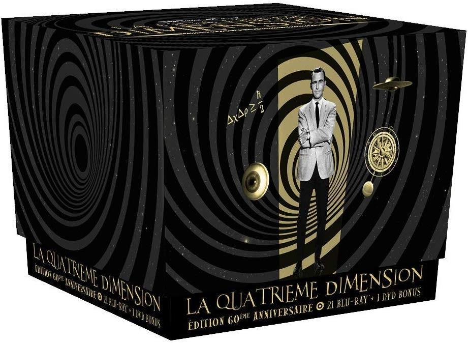 La quatrième dimension - L'intégrale (21 Blu-rays + DVD)