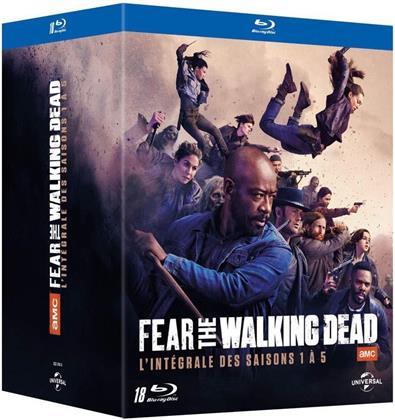 Fear the Walking Dead - Saisons 1-5 (18 Blu-rays)